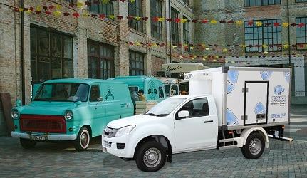 Chill Ice Truck Vans